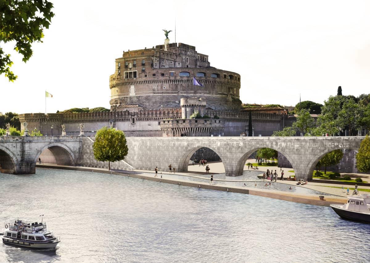lungotevere castello change festivale visioni romane