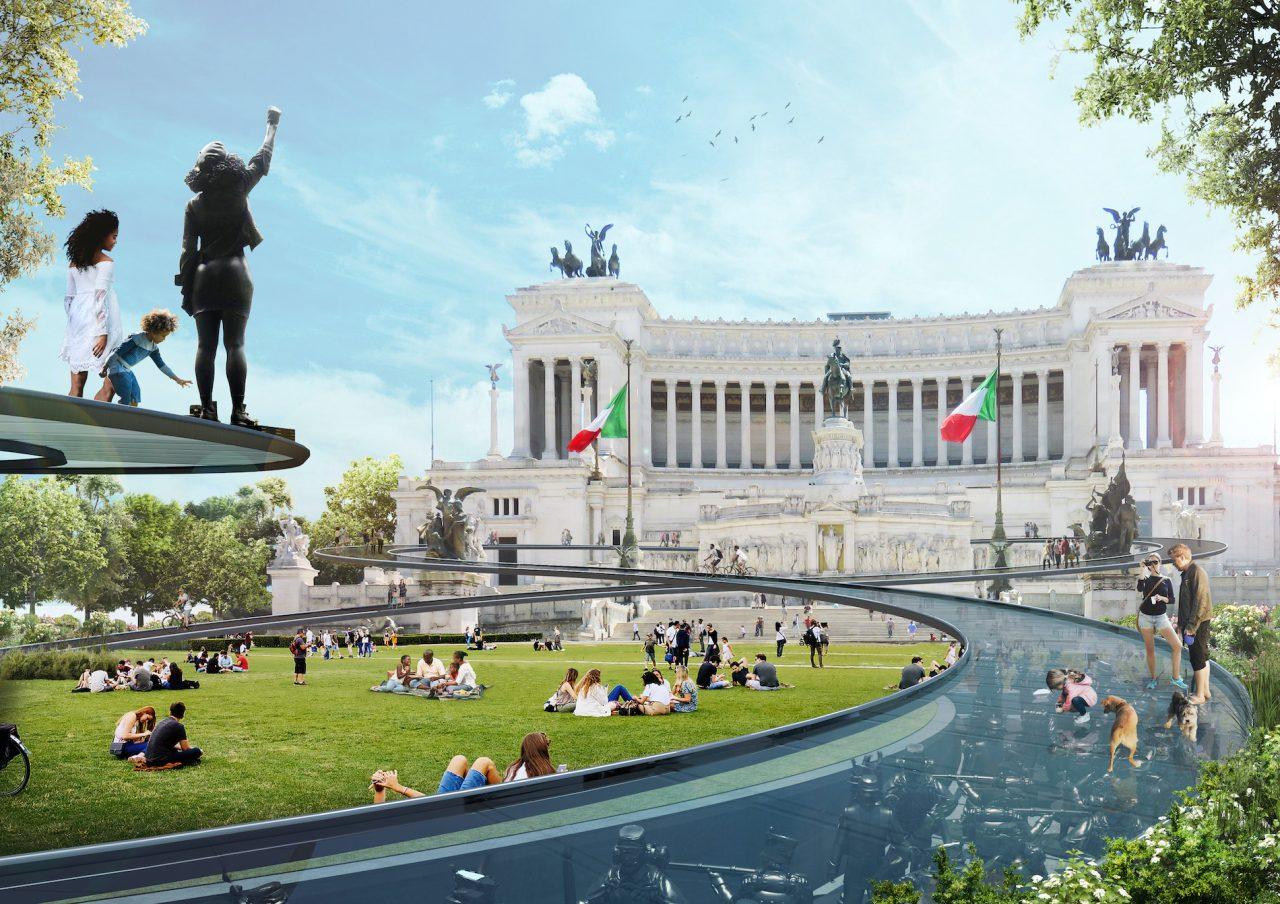 piazza venezia change festival visioni romane